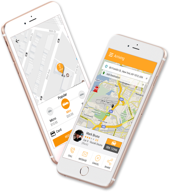 app based taxi business