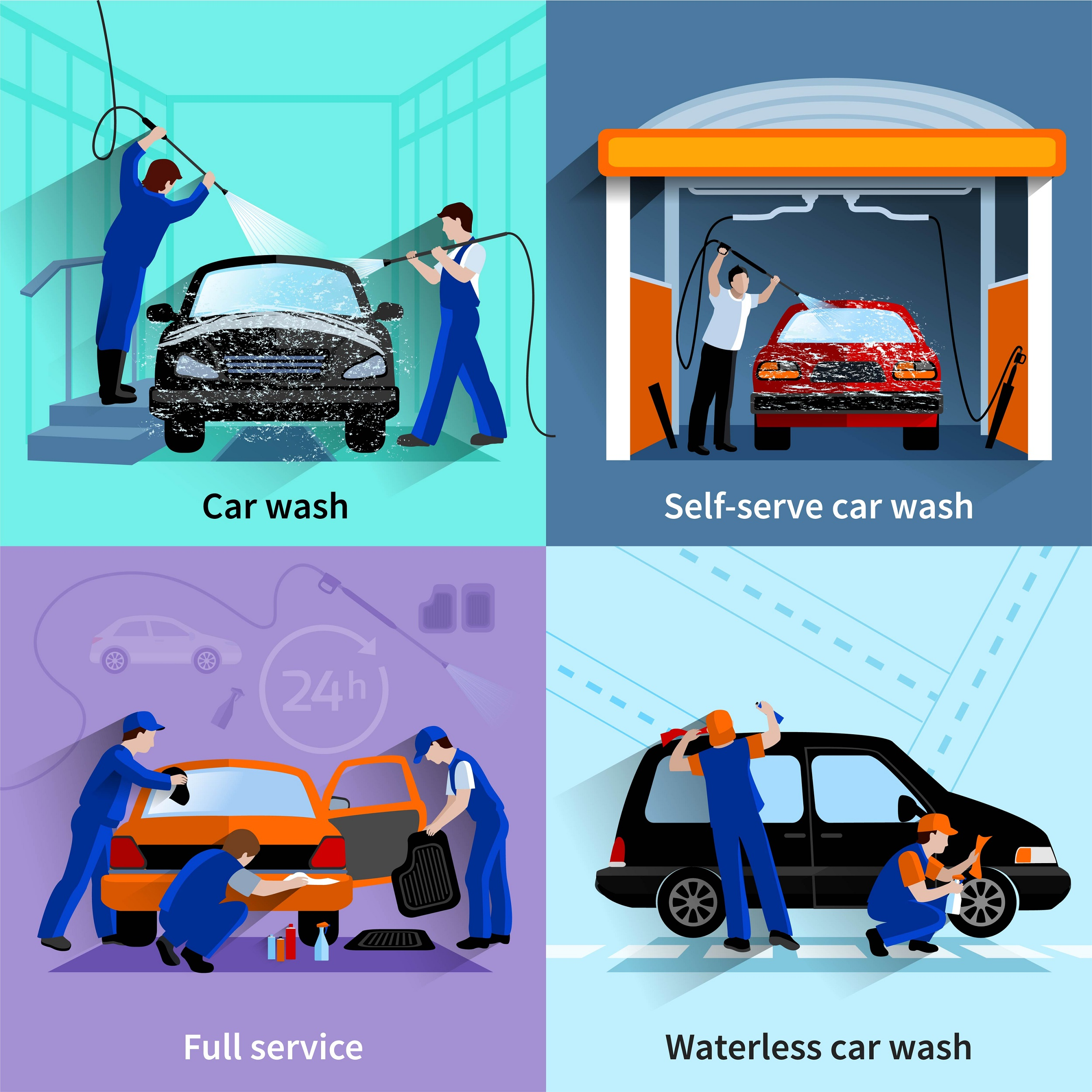 car wash startup business