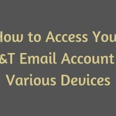 AT&T Email Account