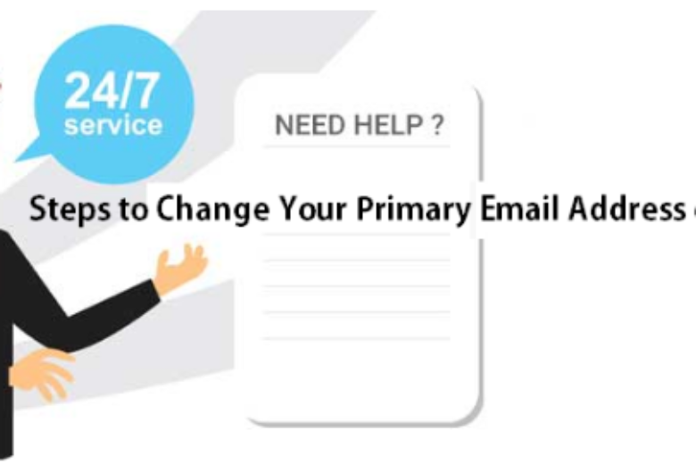 Change Your Primary Email Address on Facebook