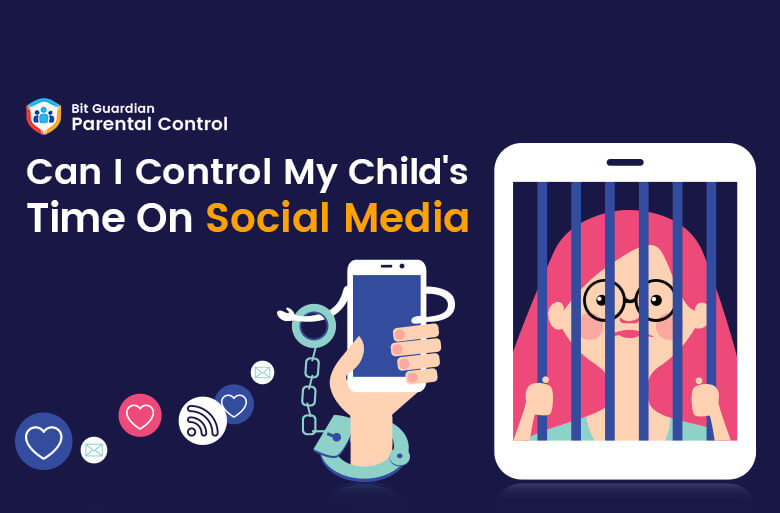 Can I control my child's time on social media?
