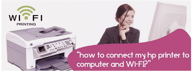 A simple guide to link HP Printer with Computer and Wi-Fi