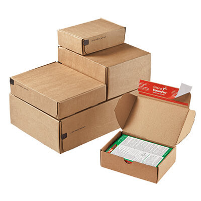 How to assemble white postage boxes correctly