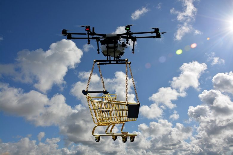 drone delivery services solution