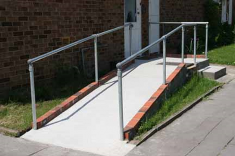 disabled access ramp construction