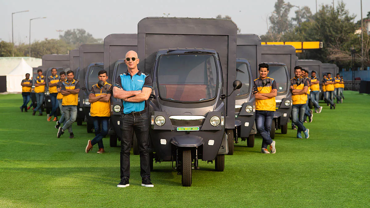 Amazon Planning New Investment of 10000 Electric Delivery Rickshaws in India around 2025 Shows Strong Drive towards Environmental Protection