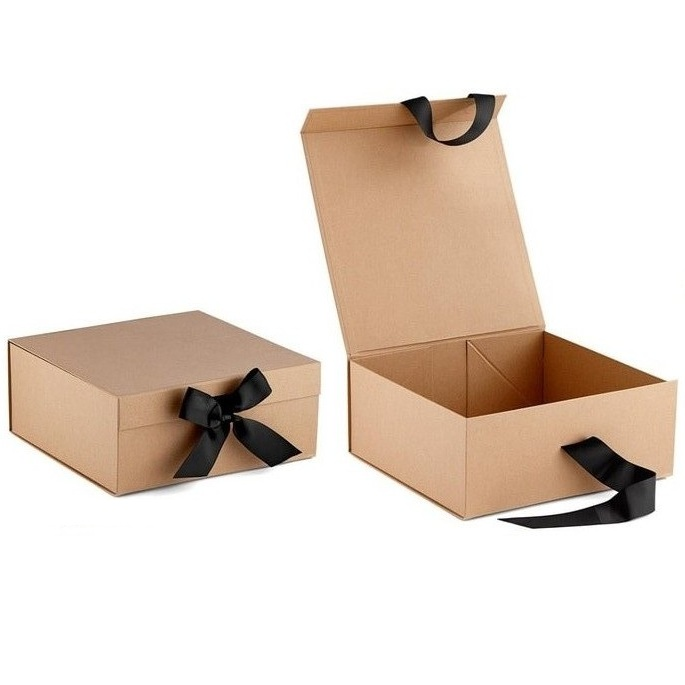 What are reusable folding gift boxes?