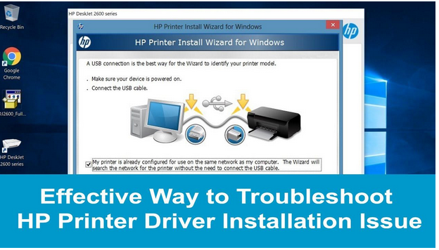 Effective Way to Troubleshoot HP Printer Driver Installation Issue