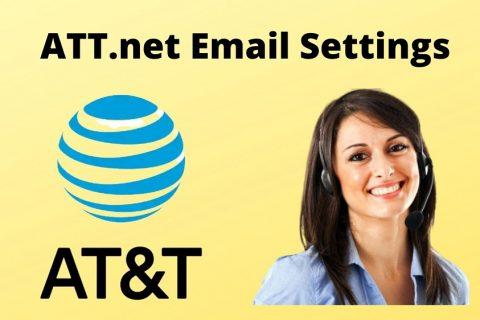 att.net email settings