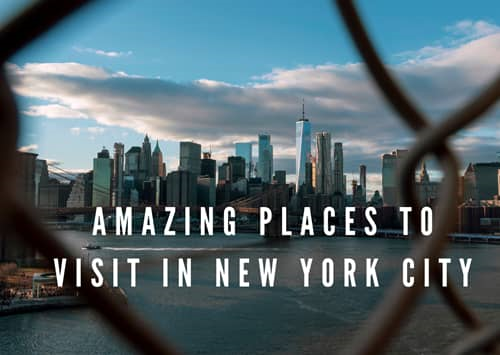 Amazing Places to Visit in New York City