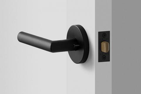 black matt door handles