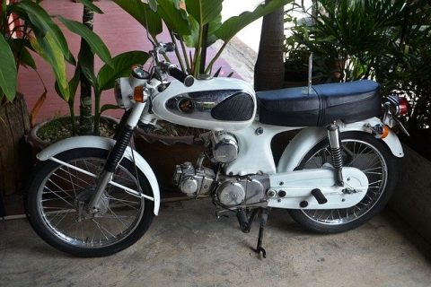 second-hand two-wheeler